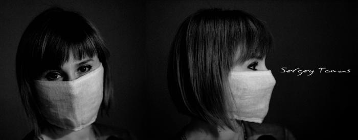 Эпидемия люди в масках