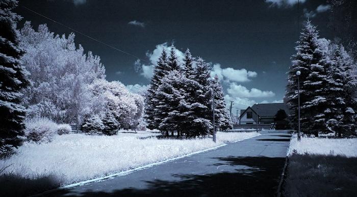 Красноармейск инфракрасная фотография