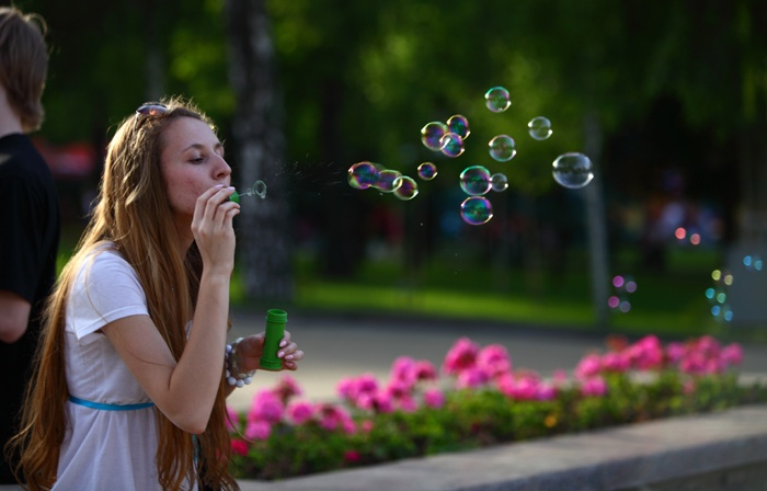 Дримфест, Фестиваль мыльных пузырей, г.Донецк