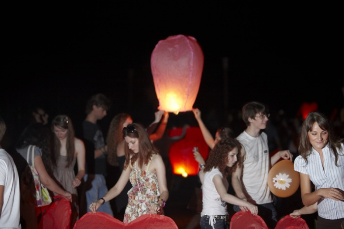 27 июня. Фестиваль небесных фонариков Огни Донецка #2.