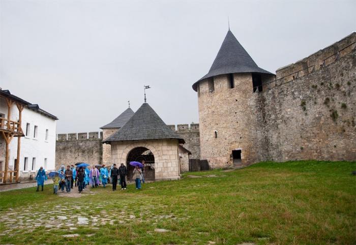 Хотин - старинная крепость