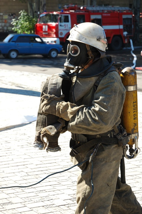 пожарно-тактические учения Красноармейск