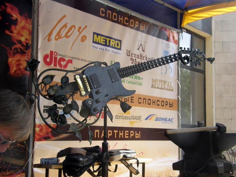 Энвер Измайлов на XII Международном кузнечном фестивале