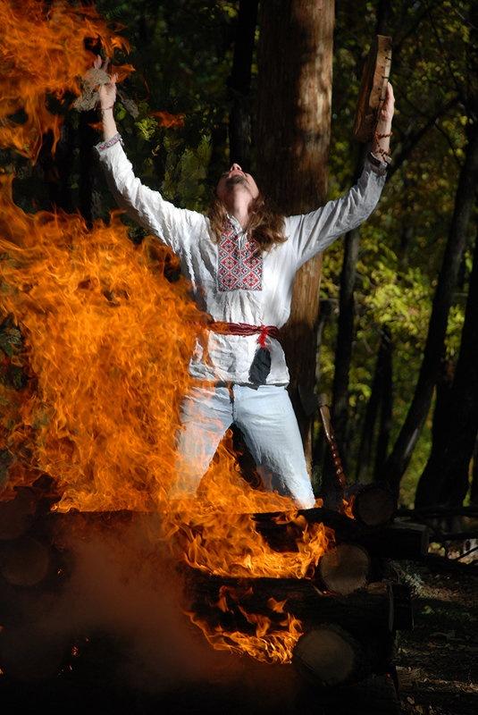 Славянский языческий праздник Таусень
