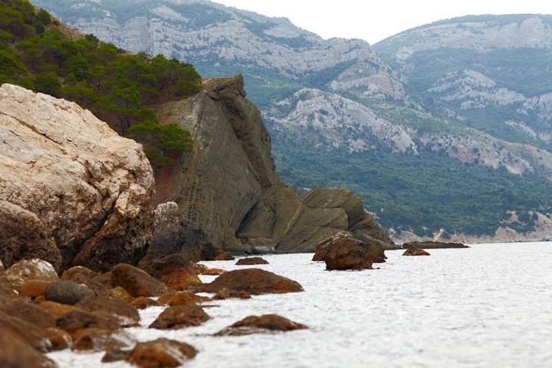 Южный берег Крыма, а точнее место в районе г.Балаклава