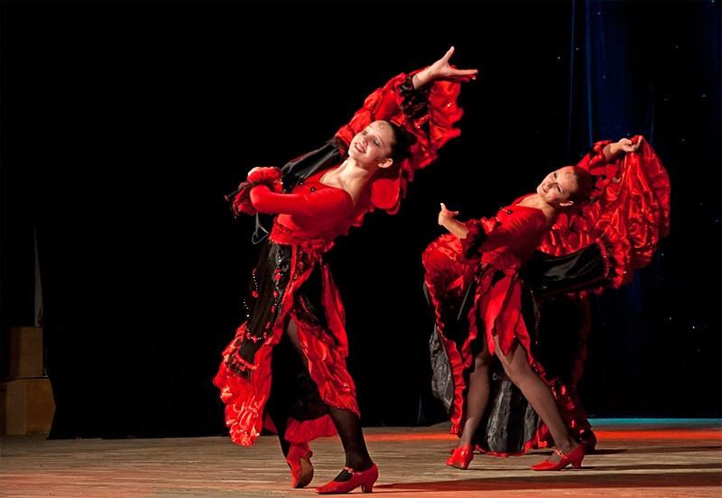 «Испанский танец» - Образцовый ансамбль танца «Веселка» (пос. Пантелеймоновка)