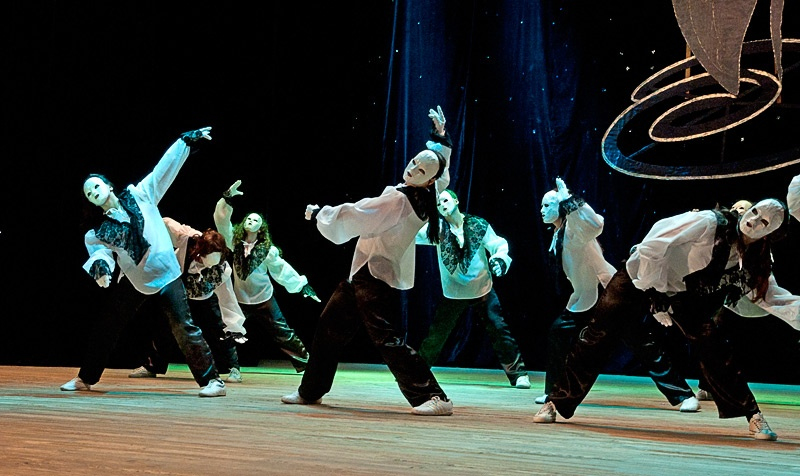 «Марионетки» - шоу-балет «Дюнола» (г. Часов Яр)