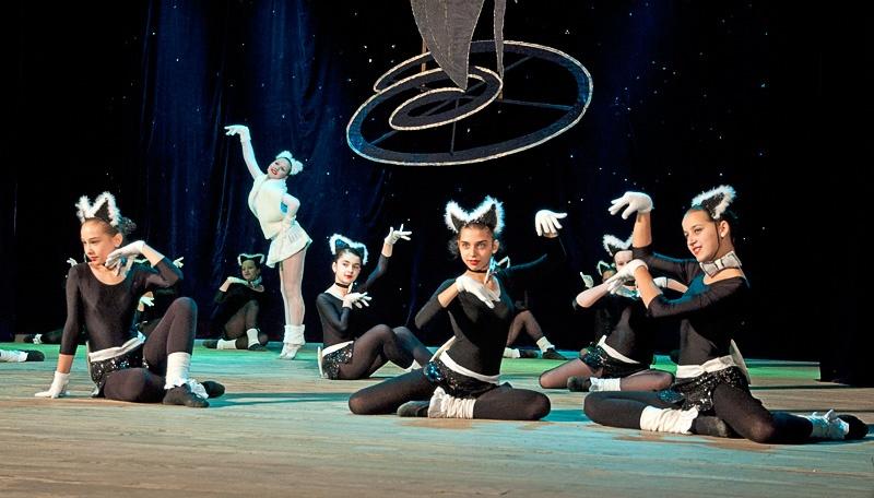 «Кошки» - ансамбль танца «Магия» (г. Красноармейск)