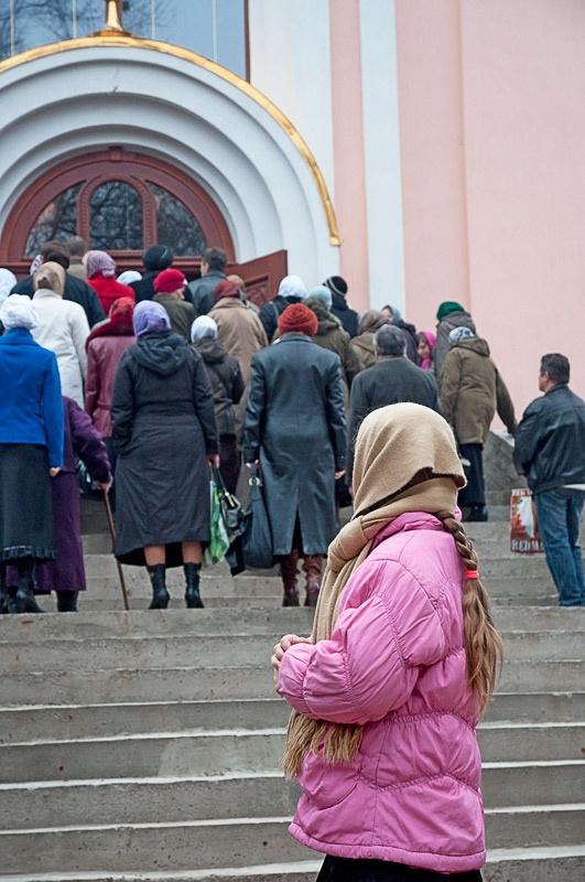 Свято-Михайловский храм Красноармейска