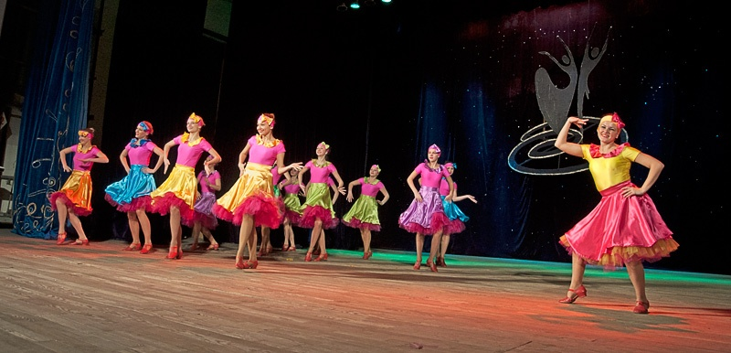 «Буги-вуги» - Народный хореографический ансамбль танца «Алые паруса» (г. Горловка)