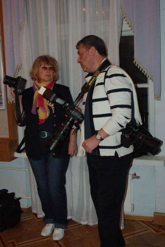 відкриття XV звітної виставки Национальної Спілки Фотохудожників України