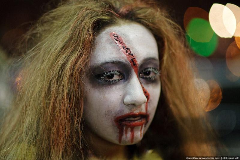 Как в Киеве гуляли на Хэллоуин