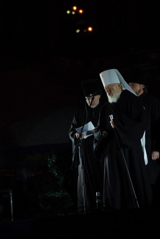 Митрополит Володимир. Новорічна ялинка у Києві