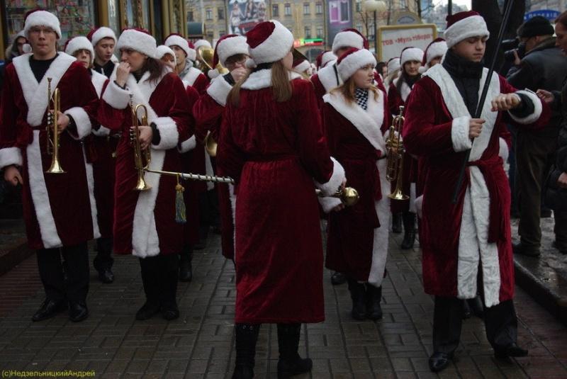 парад Дідів Морозів