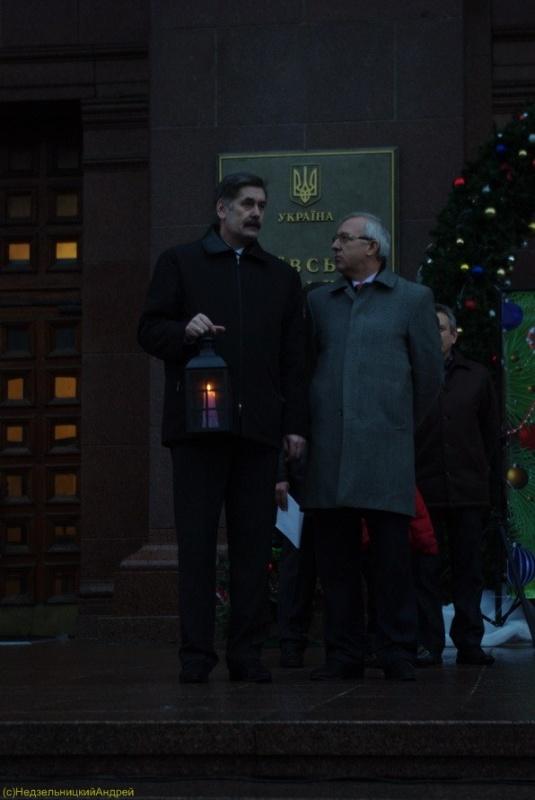 Парад Дідів Морозів  25 грудня 2010  у Києві.