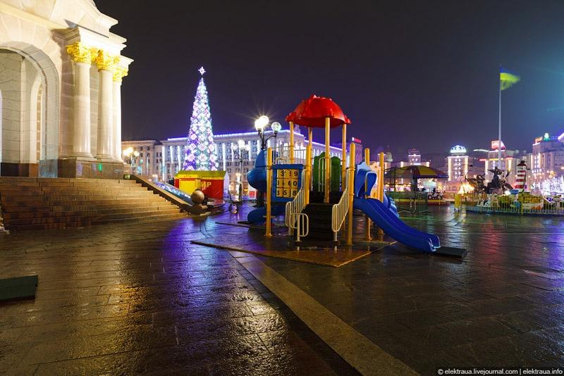 Предновогодний Киев. Фото О. Стельмах