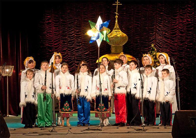 Детский хор Свято-Владимирского храма г. Красноармейска
