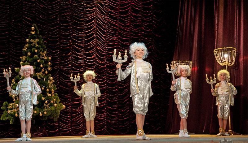 Красноармейск, концерт, празднование Рождества Христова и 20-летия ПАО «ШУ «Покровское»