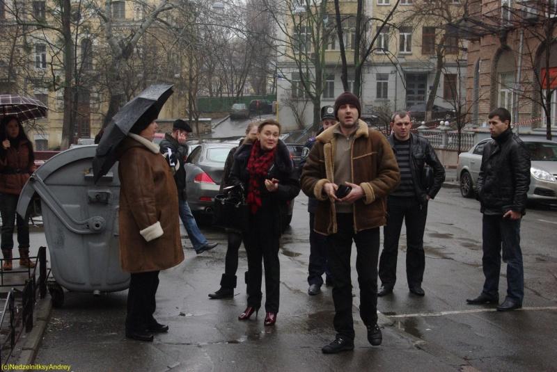 Демонтаж незаконновстановленного МАФу по вул. Дарвіна 16 січня 2011 року