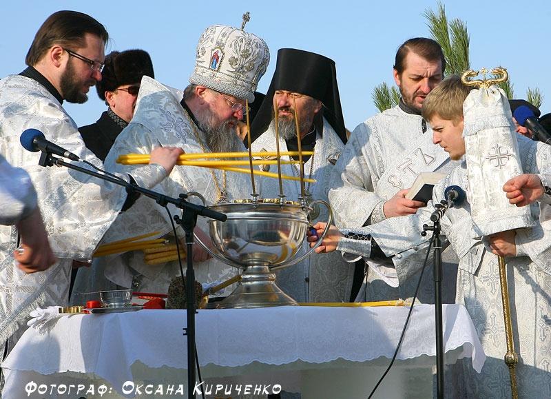 Праздник Крещения на Карловском водохранилище