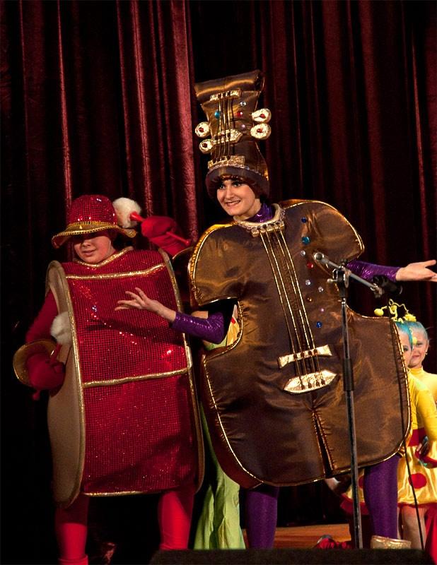 «Веселый оркестрик» - детский образцовый хореографический ансамбль «Отрадушка»