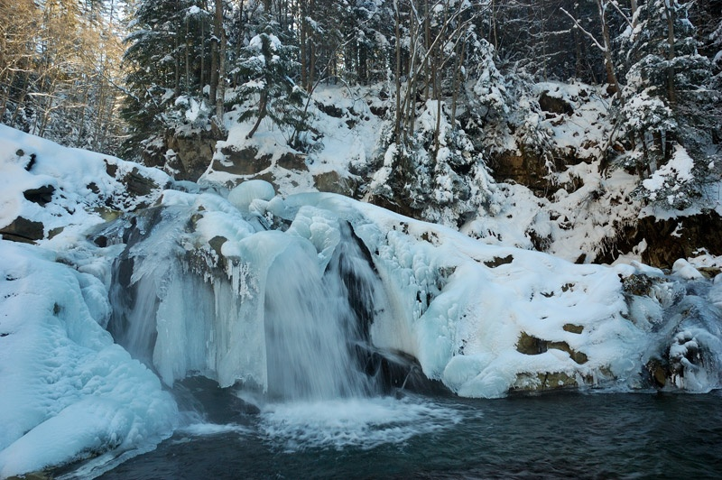 Водопад Камянка. Фото Сергей Томас.