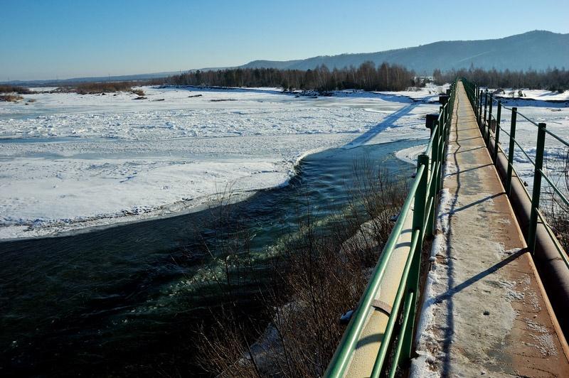 Мост через реку Стрый. Фото Сергей Томас
