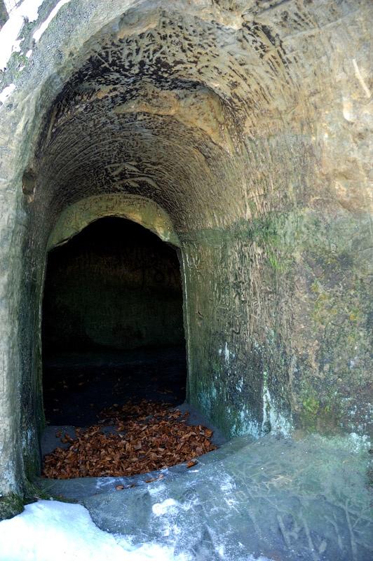Пещерный монастырь возле села Розгирче. Фото Сергей Томас.