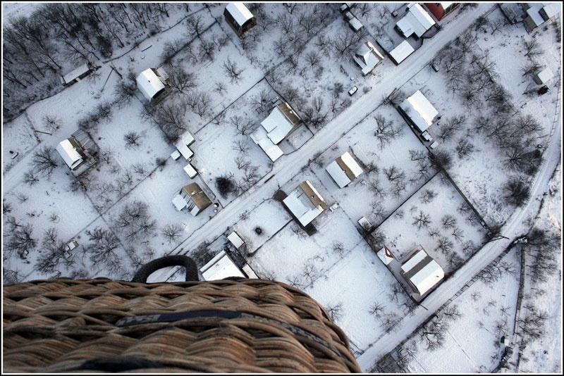 """Фоторепортаж с учебного полета Донецкого воздухоплавательного общества """"Добролет"""""""