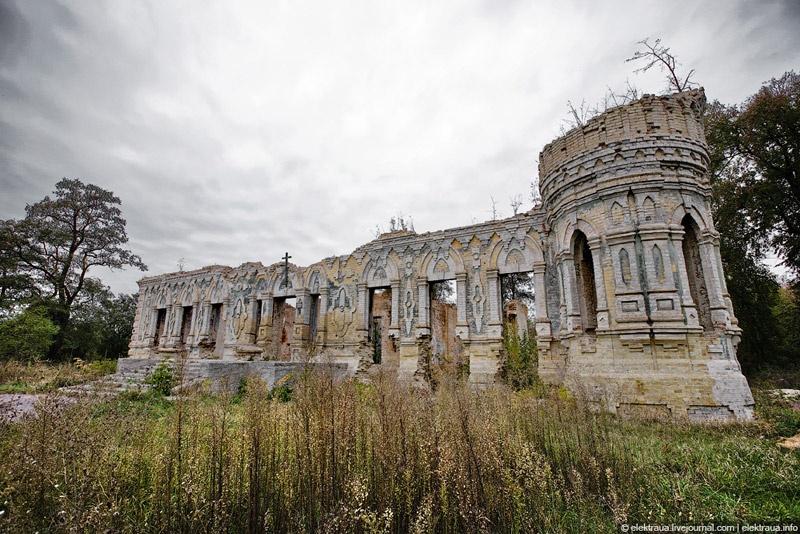 Руины немешаевского замка. Фото Олег Стельмах