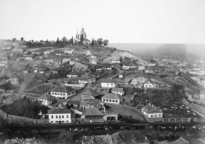 Гора Щекавица. Вид с Замковой горы