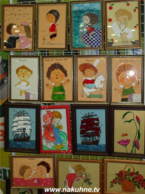 Выставка-продажа работ хенд-мейда в Донецке. На кухне.tv