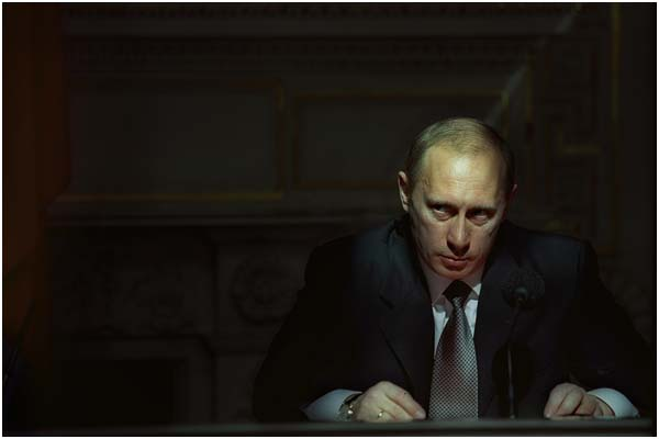 Владимир Путин. Санкт-Петербург. Россия. 2001 год