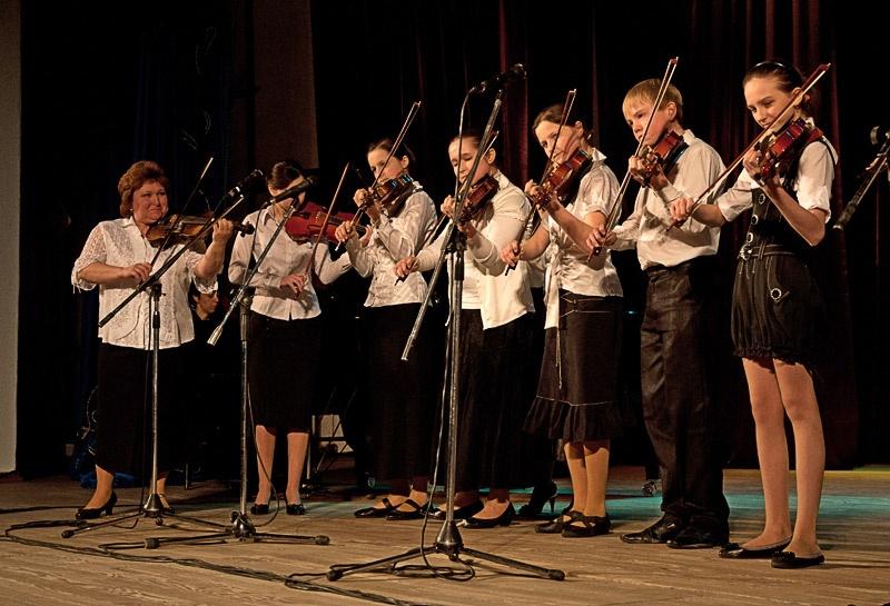 Ансамбль скрипачей – «Фантазии на тему украинских народных песен»