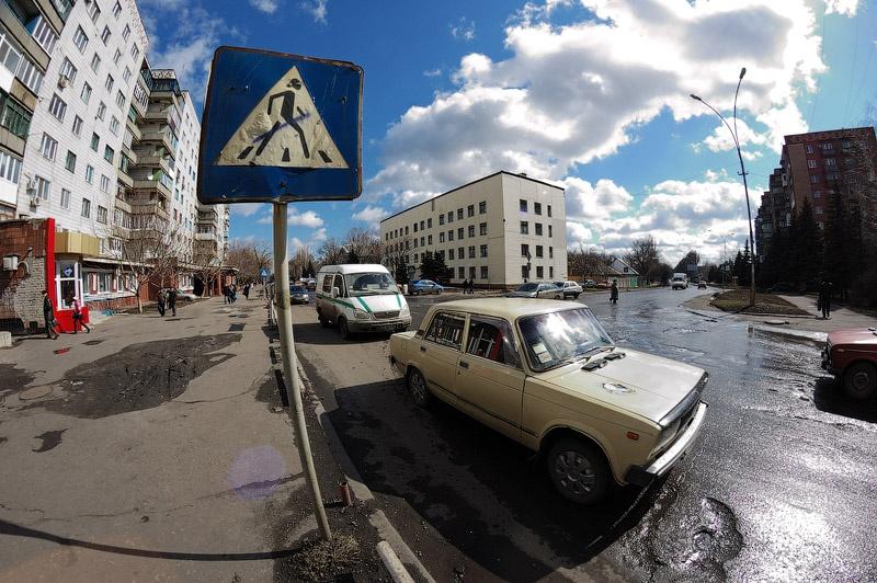 Красноармейск. Samyang 8mm f/3,5 Fisheye. Фото Сергея Томаса