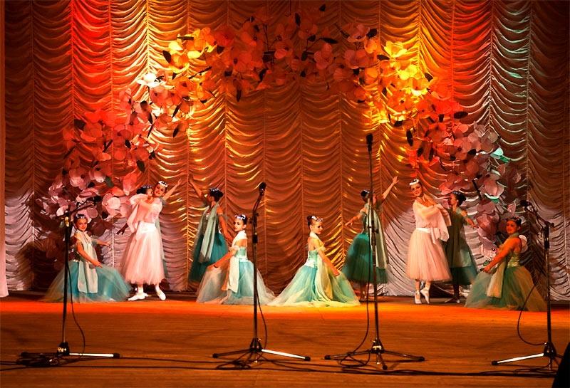 Детский образцовый хореографический ансамбль «Отрадушка»