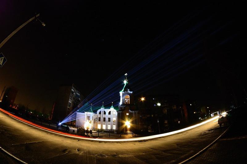 Свято-Владимирский Храм города Красноармейска. Пасха. Фото Сергей Томас
