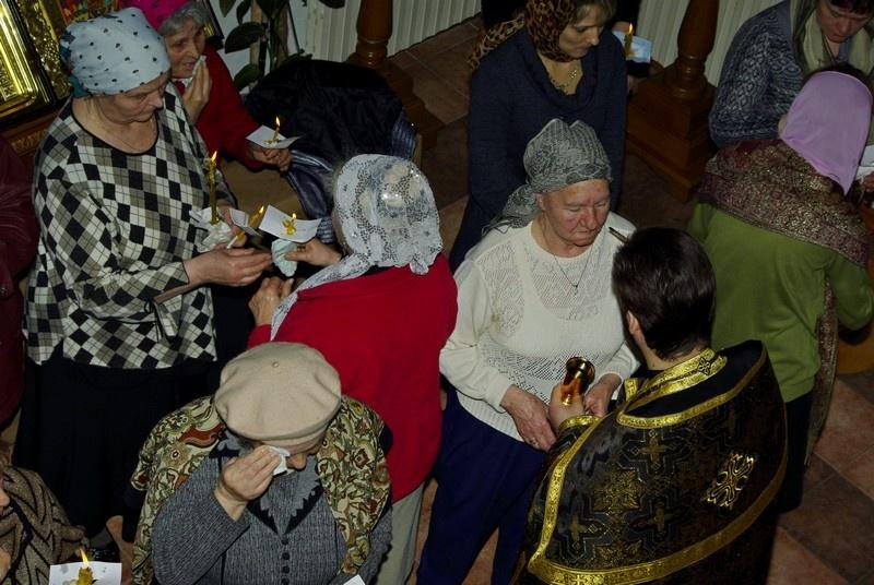 Соборование в Свято-Пантелеимоновском храме