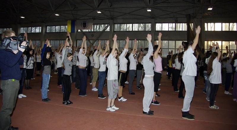 Пресс-конференция и репетиция шоу «Майdан's» в Донецке