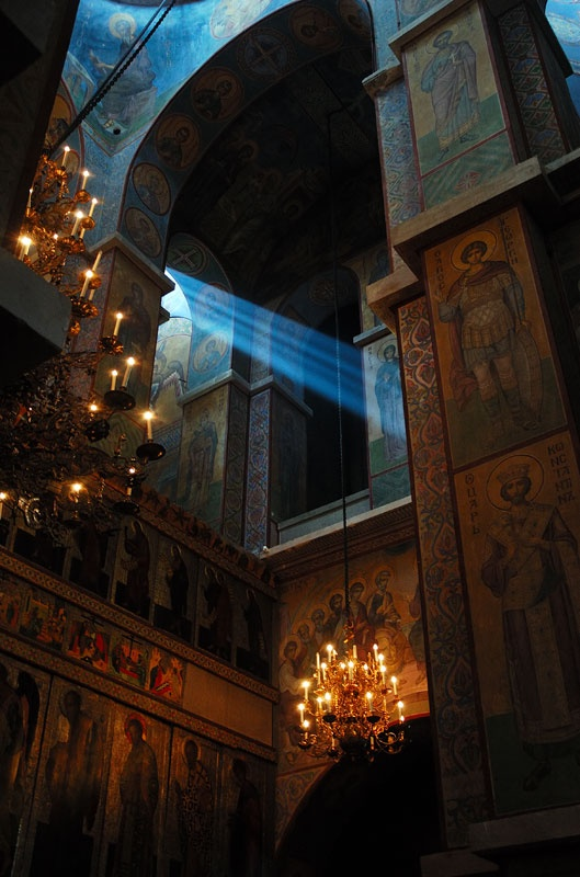 Благословение Святой Софии. Новгород, 2008 год. Сергей Томас