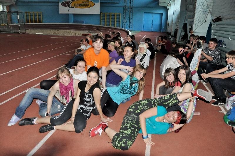 Всё для победы на Майдан's! Донецк, репетиция.