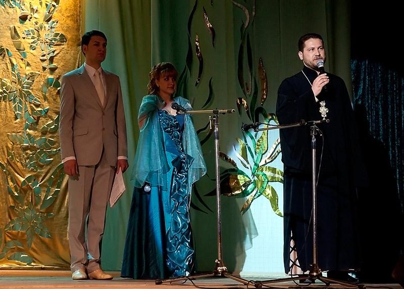 Выступление настоятеля Свято-Покрово-Никольского храма протоиерей Петра Кузменых.