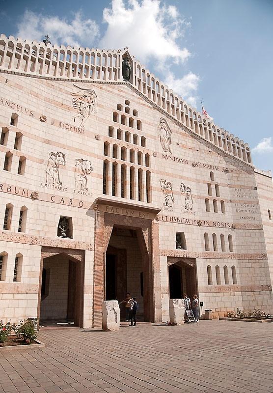 Римско-католический Храм Благовещенья в Назарете.