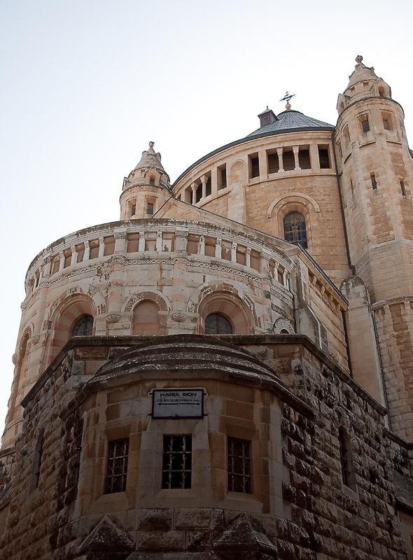 Храм Успения Пресвятой Богородицы на горе Сион.