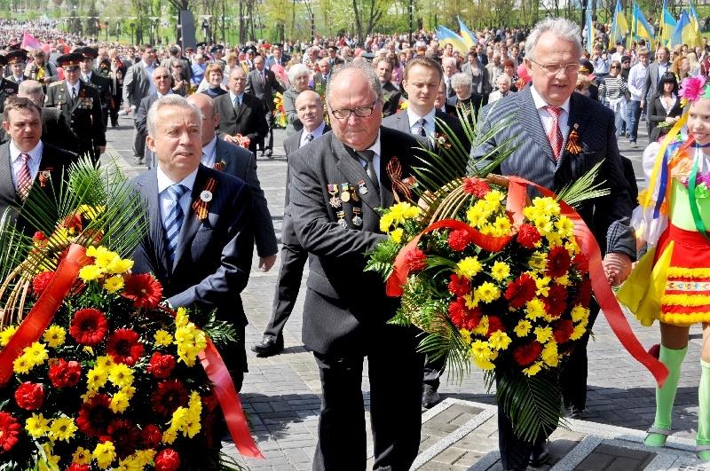 День победы 9 мая 2011 года. Донецк.
