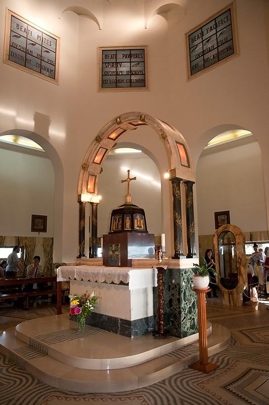 Церковь Нагорной Проповеди на Горе Блаженств