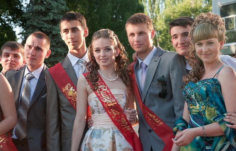 Выпускной 2011 года. Красноармейск