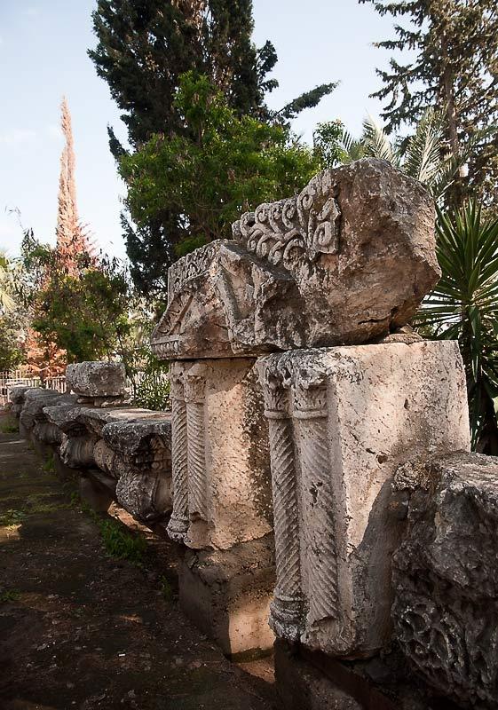 Раскопки древнего поселения Капернаума.