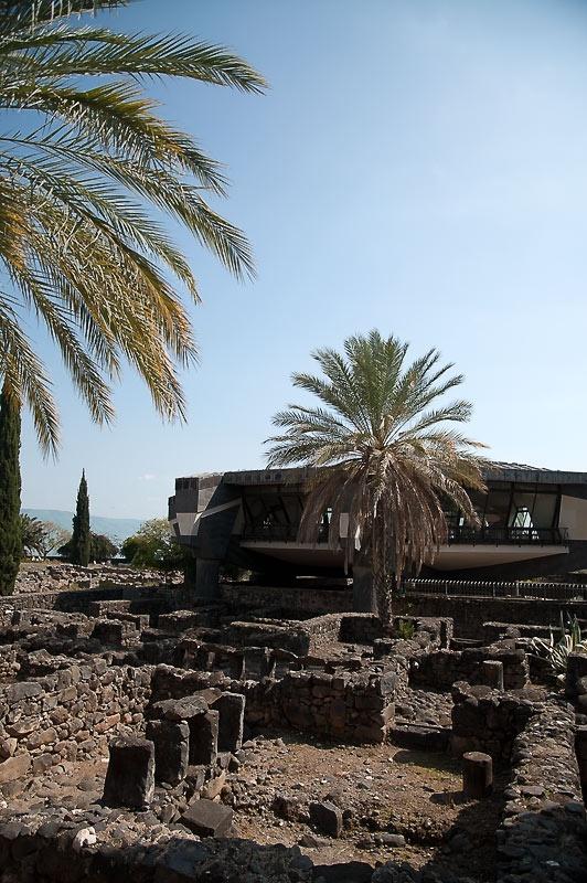 Капернаум. Древняя Синагога и дом Святого Петра