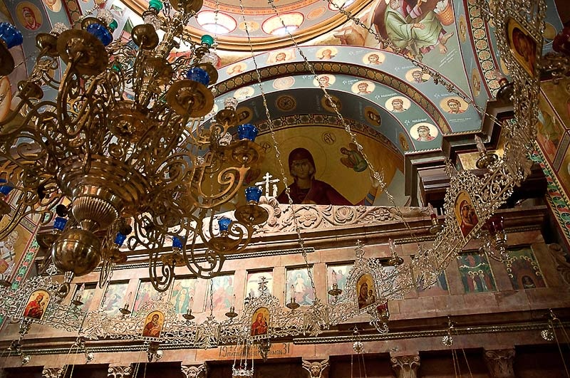 Капернаум. Греческая церковь Двенадцати Апостолов.